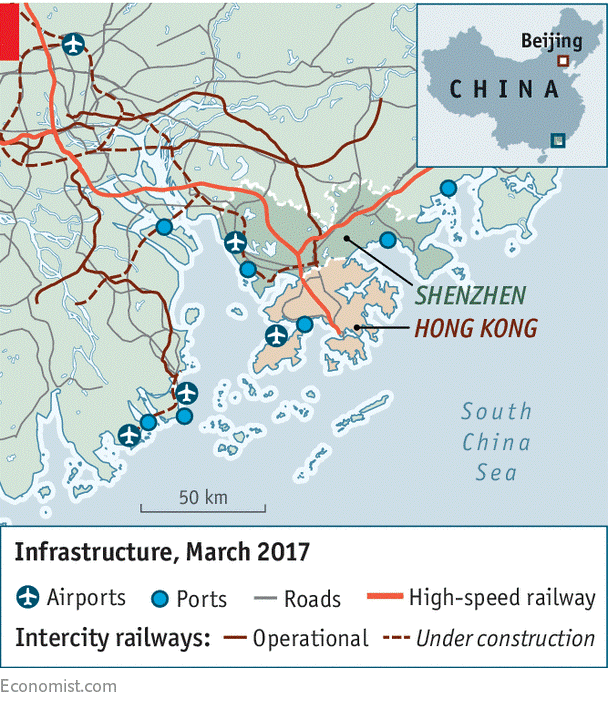 infrastructure march