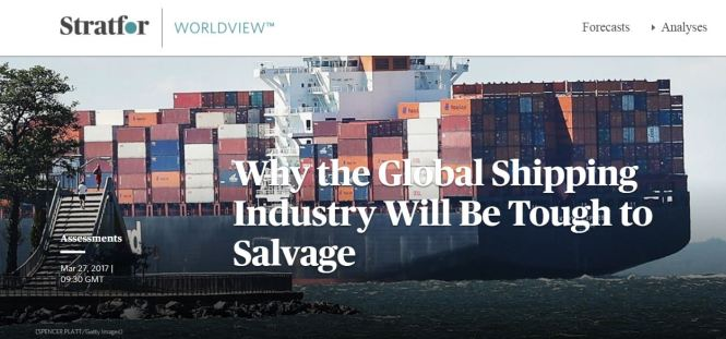 why global shipping hard to salvage