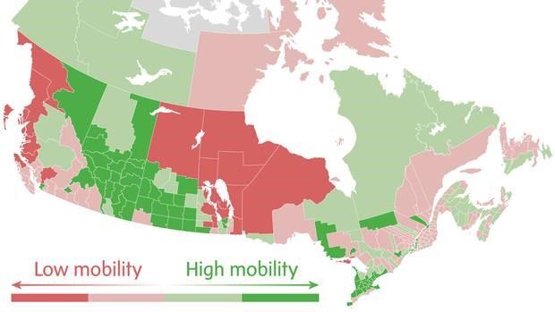income in Canada
