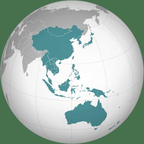 NE and SE asia